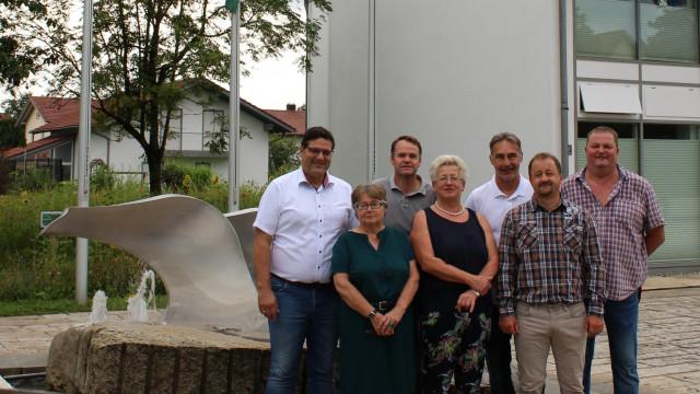 SPD Vorstand Stephansposching