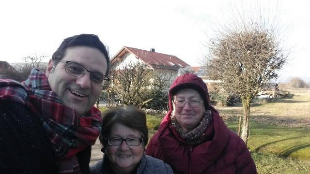 Thomas Müller, Inge Slowik, Edith Falter