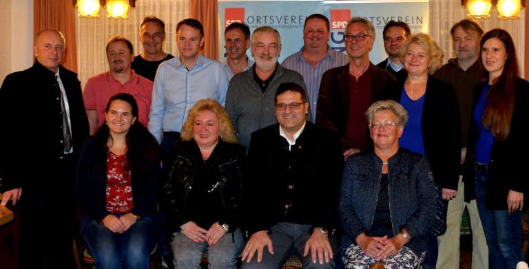 SPD Stephansposching Listenkandidaten