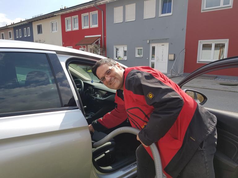 Thomas Auto putzen