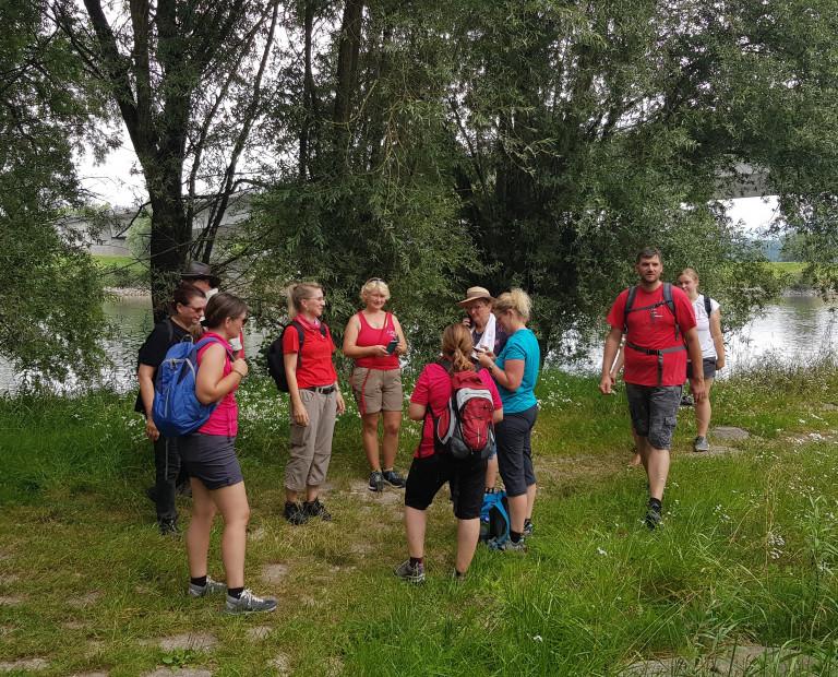 Ritas rote Rucksack-Tour - Wanderung in Stephansposching 1