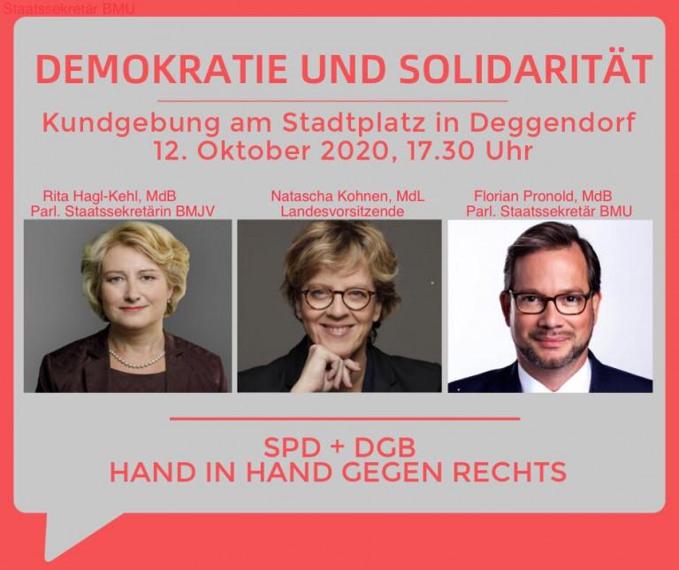 Demo Solidarität