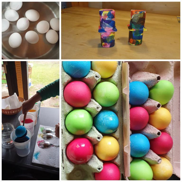 Eva Schuller Eier färben